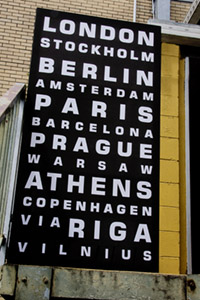 World Cities Bus Scroll